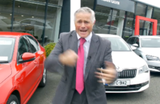 Facebook is loving this Cork car dealer's bizarre new ad