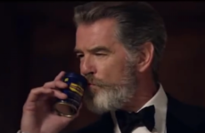 Pierce Brosnan is getting slated in India for advertising a breath freshener that leaves your mouth red