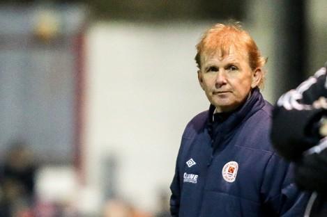The pressure remains on Saints boss Liam Buckley despite tonight's win.