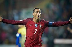 Ronaldo returns with four-goal haul for Portugal, Faroe Islands shock win and all tonight's WCQ results