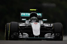 Rosberg pips Hamilton to pole position at Japanese Grand Prix
