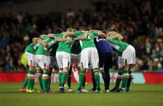 What team should Ireland start against Moldova?
