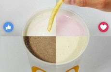 McDonald's posted about dipping chips in milkshakes and people were delighted