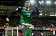 Kyle Lafferty double seals win for Northern Ireland
