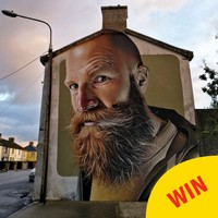 This class Waterford street art has gone global over the weekend