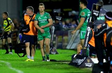Buckley, McCartney and Healy to miss two months for Lam's Connacht