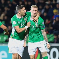 Huge relief as these 2 James McClean goals have gotten Ireland out of jail