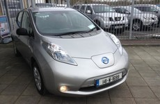 DoneDeal of the Week: This 2014 electric Nissan Leaf which comes with a home charger