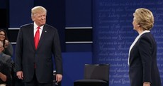 """""""If I was President, you'd be in jail"""" - The key moments from Trump vs Clinton II"""