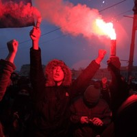 In pictures: Thousands of Russians join biggest protests since Soviet era
