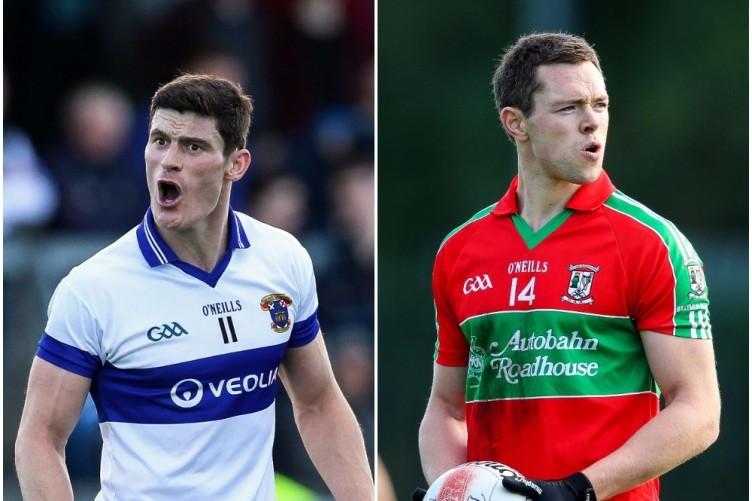 Diarmuid Connolly (St Vincent's) and Dean Rock (Ballymun Kickhams) are both chasing a Dublin title.