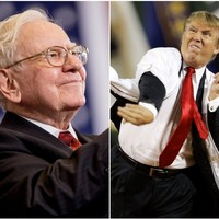 Donald Trump called out Warren Buffett on Sunday. The wily old billionaire has hit back