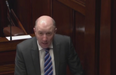 Whose phone is that? A very familiar sound interrupted Michael Healy Rae in the Dáil this evening