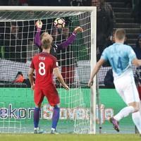 Joe Hart comes to England's rescue in Slovenia