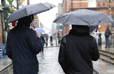 Our mild October is forecast to turn cold and rainy this weekend