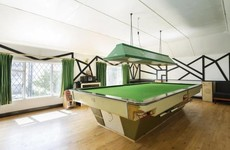 Need a break? This period home comes with a dedicated games room