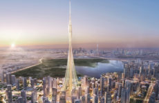 The world's tallest tower has broken ground