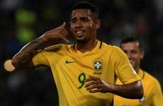 Premier League-bound Gabriel Jesus can't stop scoring for Brazil