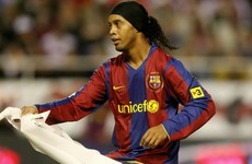 Barca great Ronaldinho - I never lacked competitiveness