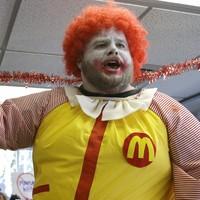 Ronald McDonald has fallen victim to the current 'creepy clown' craze