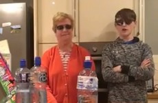 A granny from Wexford actually pulled off the greatest bottle flip this week