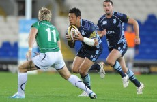 Connacht struck by the Blues in Cardiff