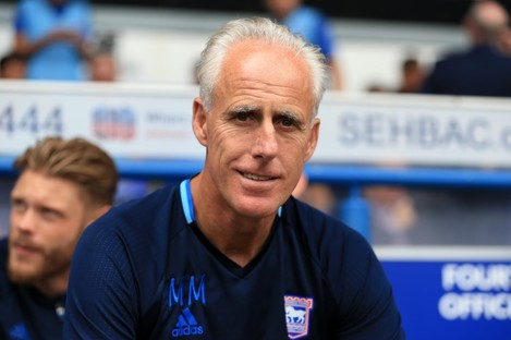 Ipswich Town and former Ireland manager Mick McCarthy.