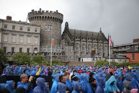 Dublin Castle is the venue for the first meeting of the Assembly. (File photo)