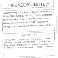 If you're living in north Dublin, you might want to ignore this recycling flyer