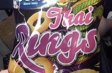 Thai Rings are an essential element of any Irish person's beige food arsenal