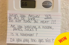 Every Irish household needs this mam's set of rules for turning on the heat