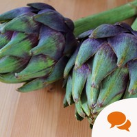 Globe artichokes - embrace this weird but delicious vegetable