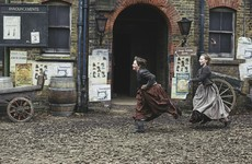 Two Irish siblings find out what life was like in Victorian London in this new BBC series
