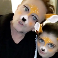 Bono used the deer filter on his daughter's Snapchat and people can't deal