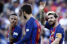 Barca, Atletico and Real score 17 goals between them to earn emphatic wins