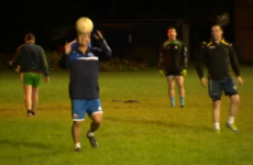 A BBC presenter tried out Gaelic football and got so, so into it