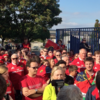 Munster fans pay a poignant tribute to Anthony Foley in Paris