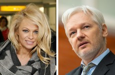 Pamela Anderson visits Julian Assange at Ecuadorean Embassy