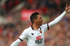 Holebas cracker gives Watford all three points on Teesside as Southampton ease past Burnley