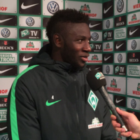 Two years after fleeing Gambia, teenage striker scores winner for Werder Bremen