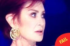 Sharon Osbourne forgot the name of her own act on The X Factor and it was mortifying