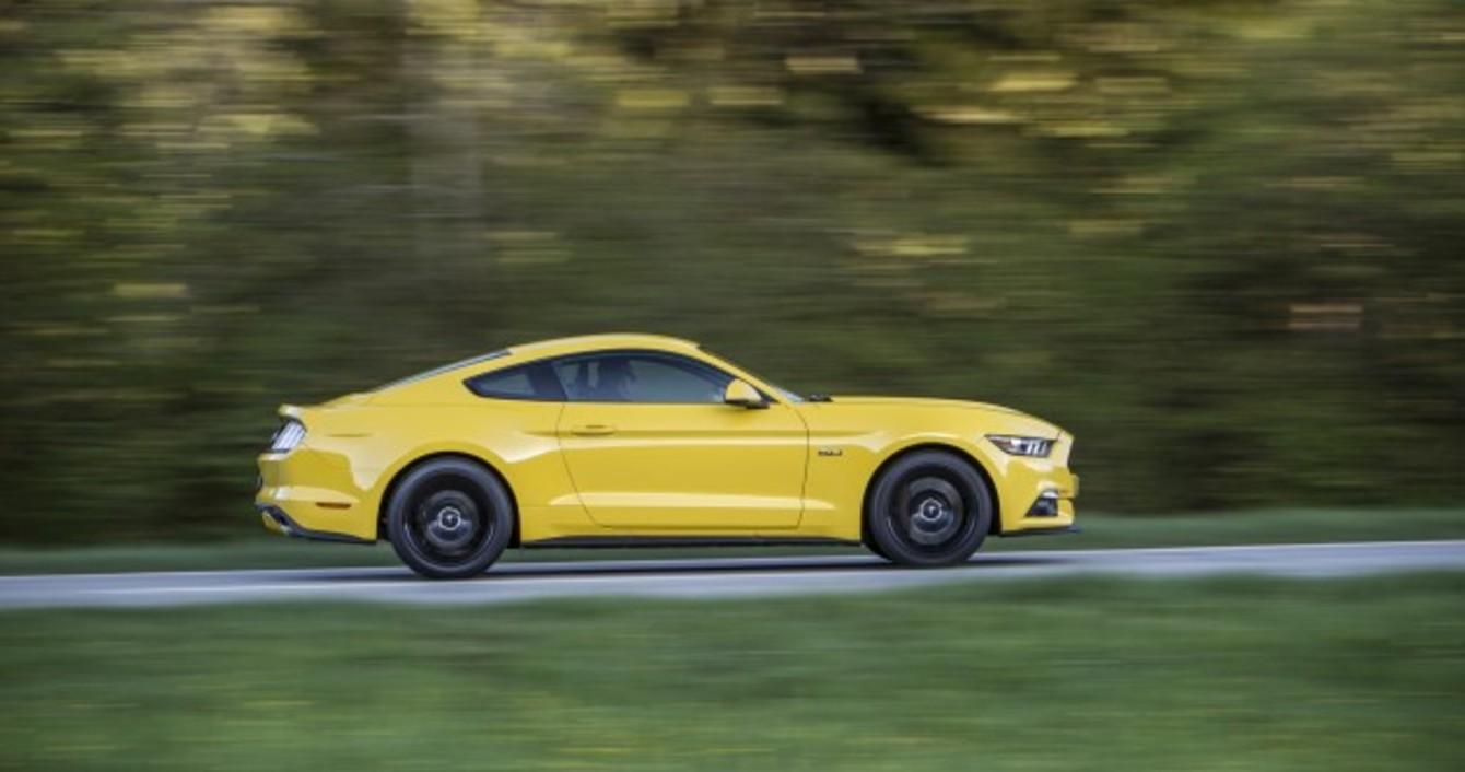 Review the ford mustang v8 is loud brash and a whole lot of fun