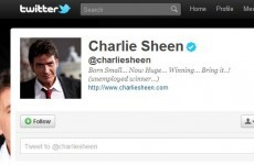 Charlie Sheen accidentally tweets phone number to 5.5 million followers