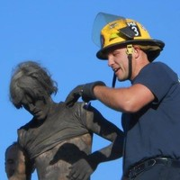 Firefighters rescue man who got stuck in chimney after losing keys