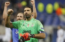 38-year-old Gigi Buffon produced an absolute masterclass in goalkeeping tonight