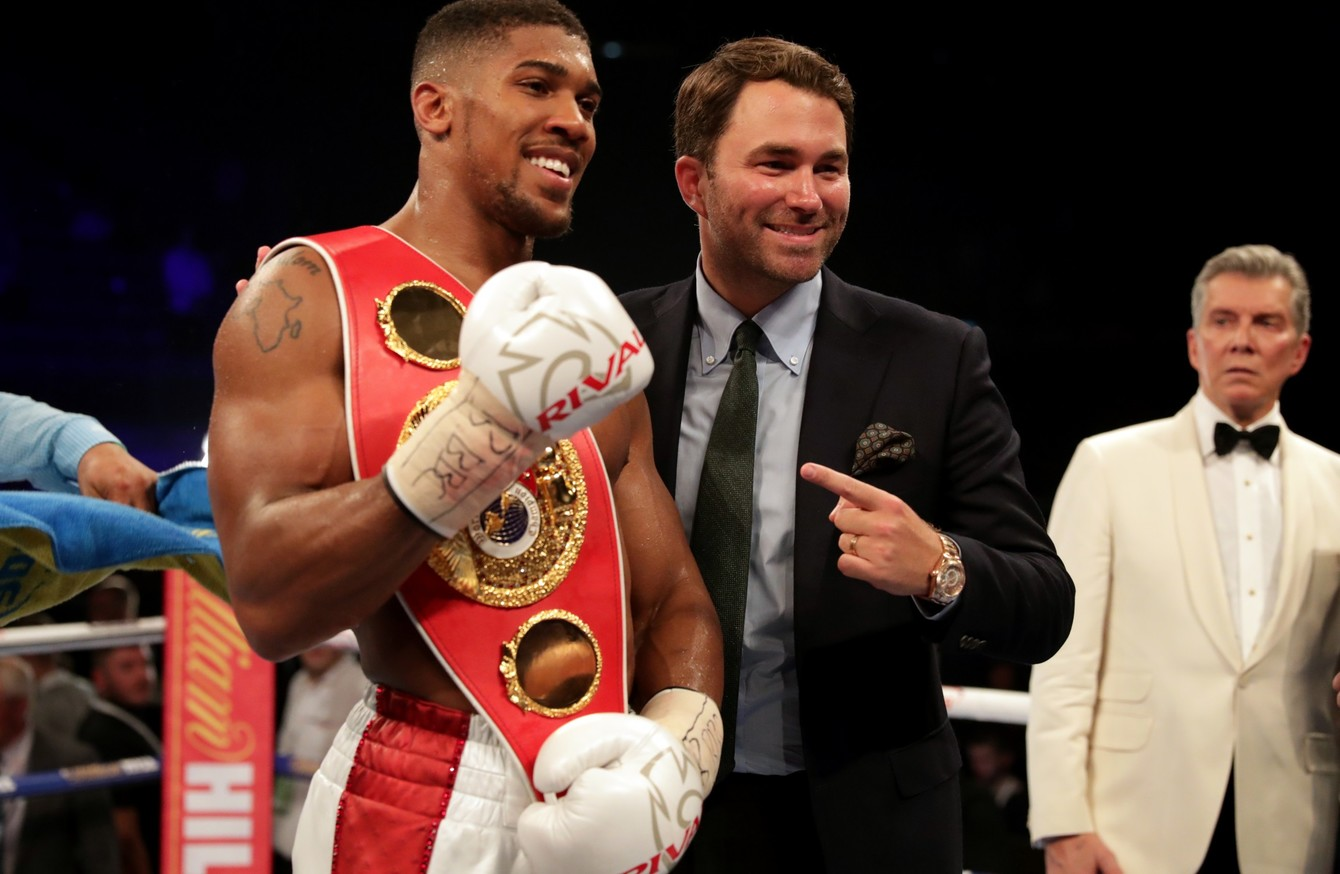 Anthony Joshua will fight on 10 December - even if Wladimir