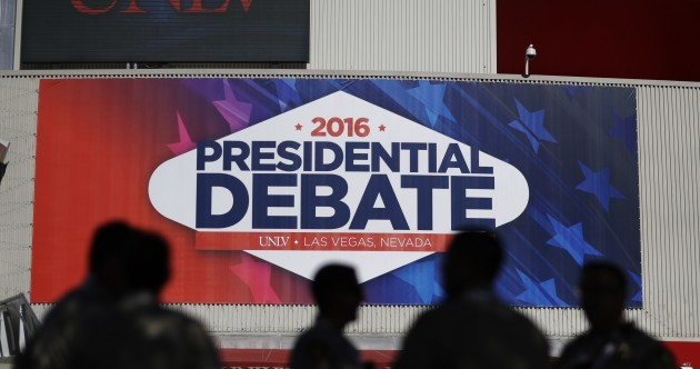 As it happened: Trump and Clinton face off in last presidential debate