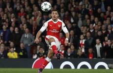 Sanchez stunner and three from Ozil as Arsenal hit Ludogorets for six