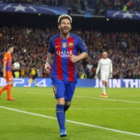 Messi hat-trick ensures unhappy Barcelona return for Guardiola as Bravo sees red