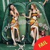 This magazine made a hames of photoshopping Kendall Jenner and Gigi Hadid's knees